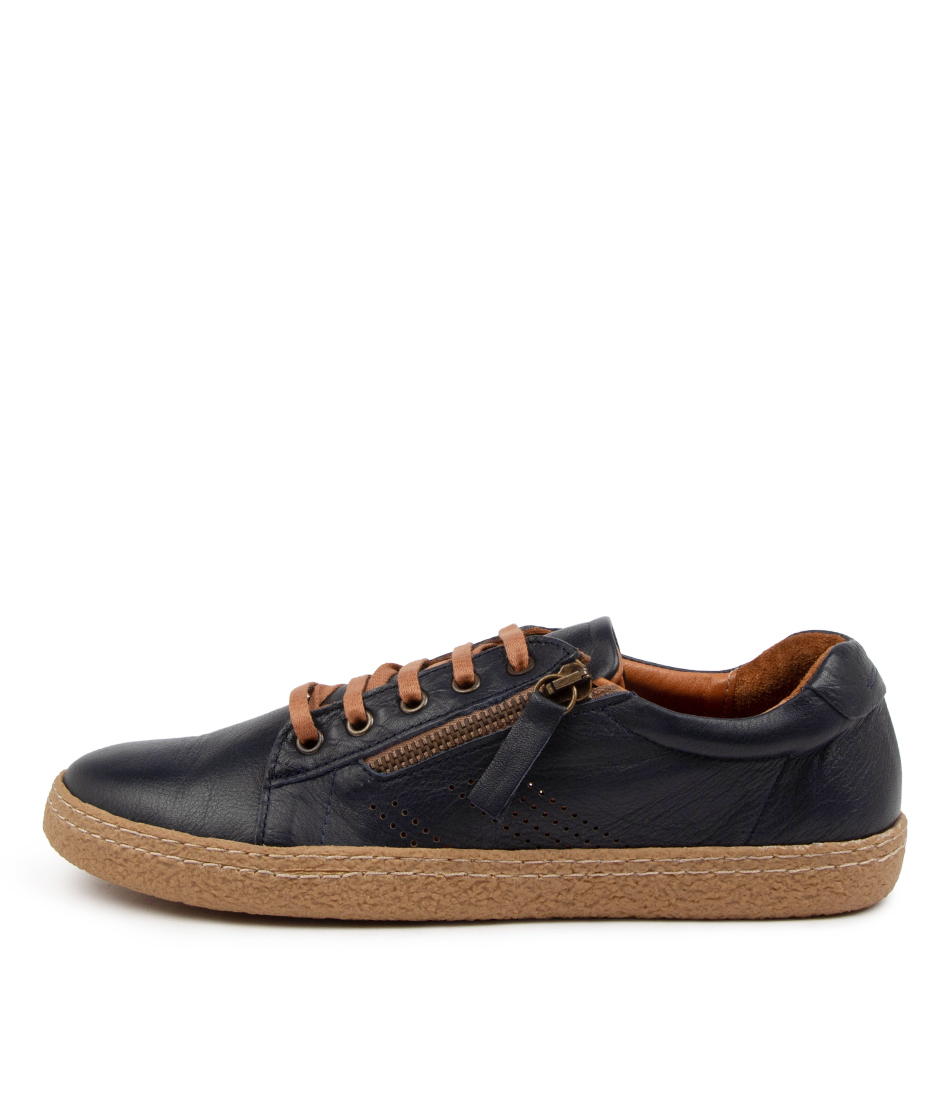 Buy Supersoft Hedwig Su Navy Sneakers online with free shipping