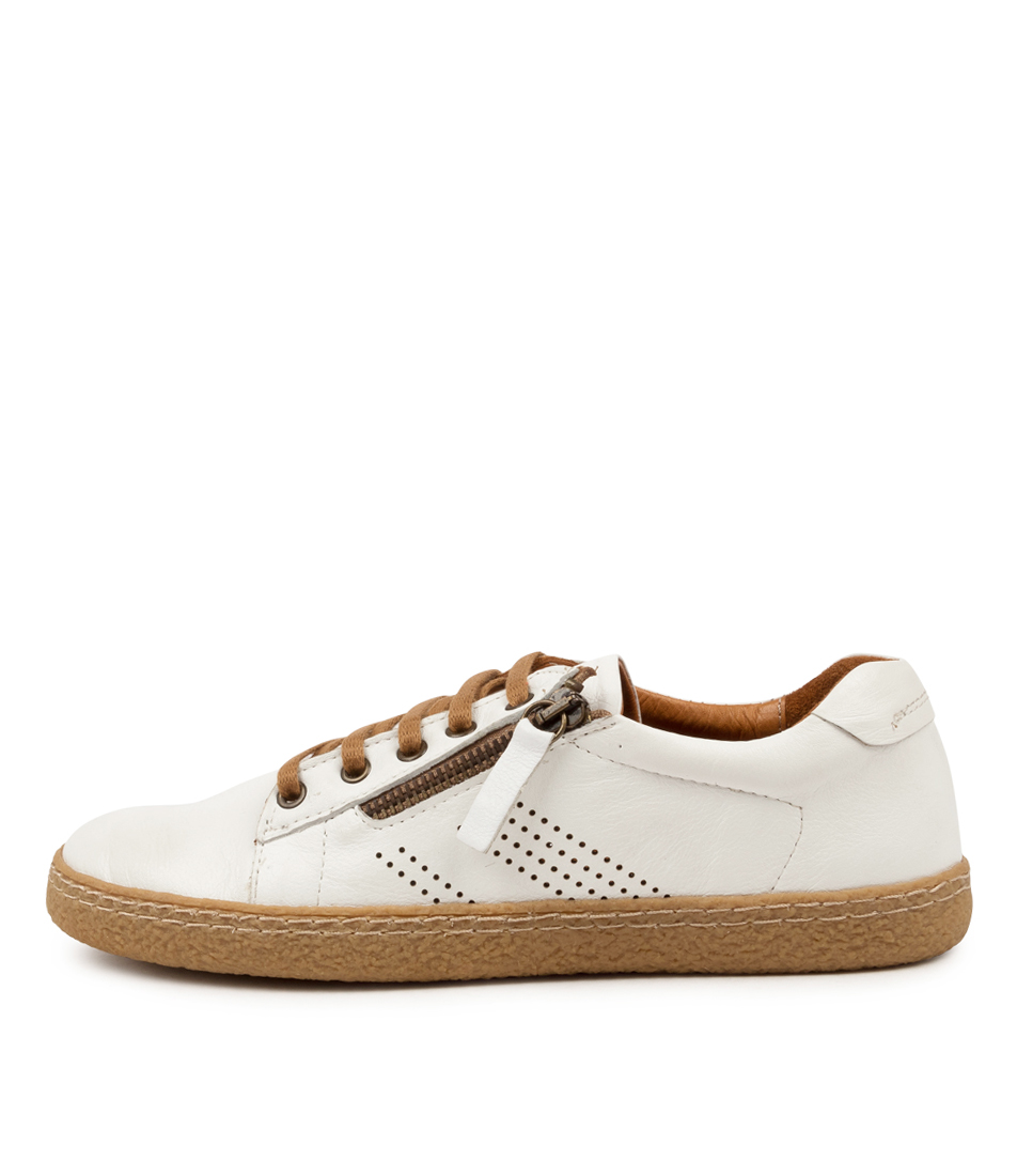 Buy Supersoft Hedwig Su White Sneakers online with free shipping