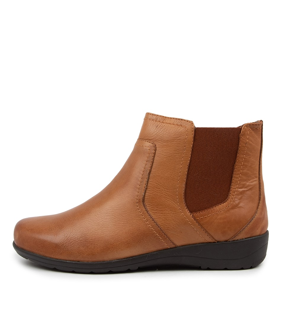 Buy Supersoft Prosper Su New Tan Ankle Boots online with free shipping