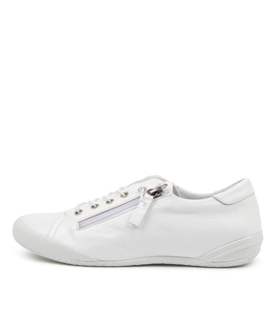 Buy Supersoft Royane Su White Sneakers online with free shipping