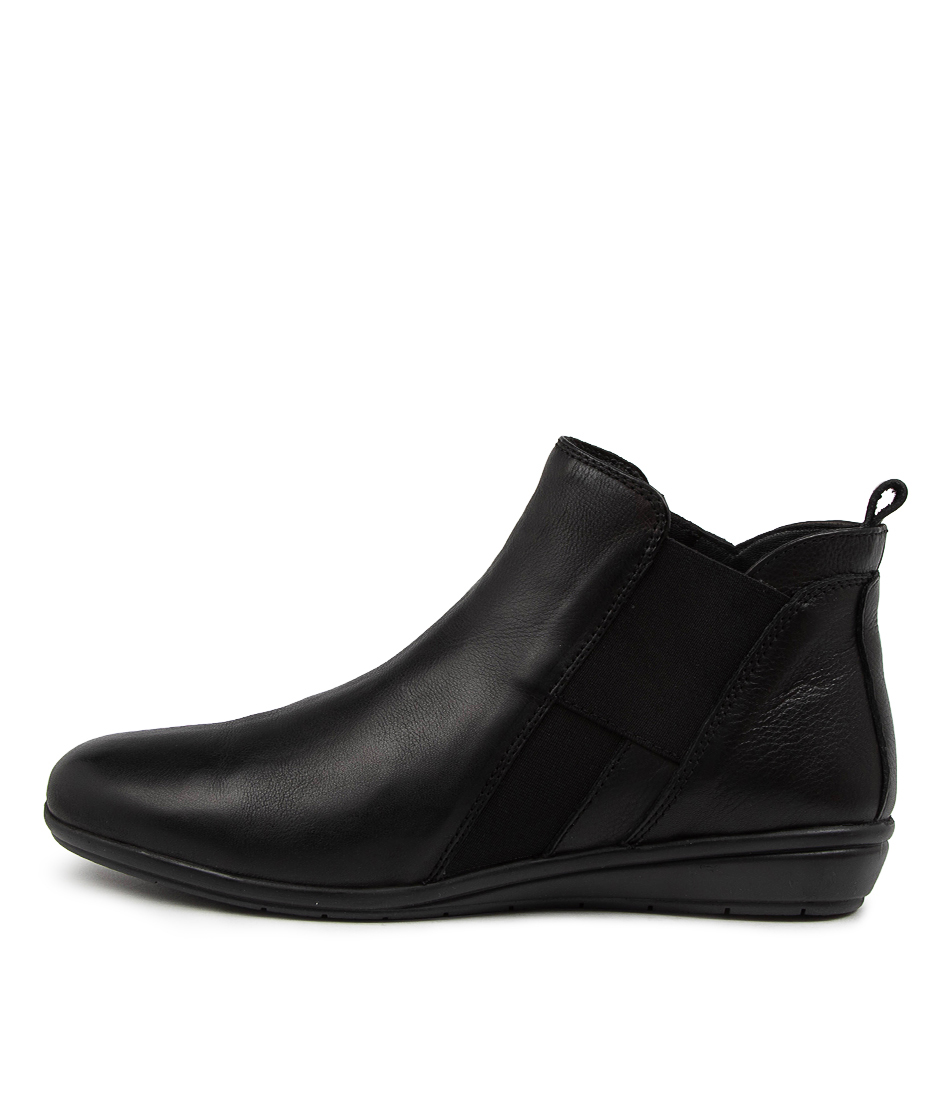 Buy Supersoft Feival Su Black Ankle Boots online with free shipping