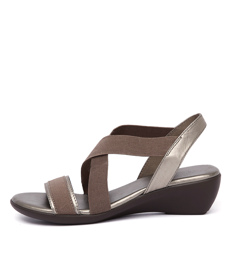 Supersoft Lynne Pewter Sandals