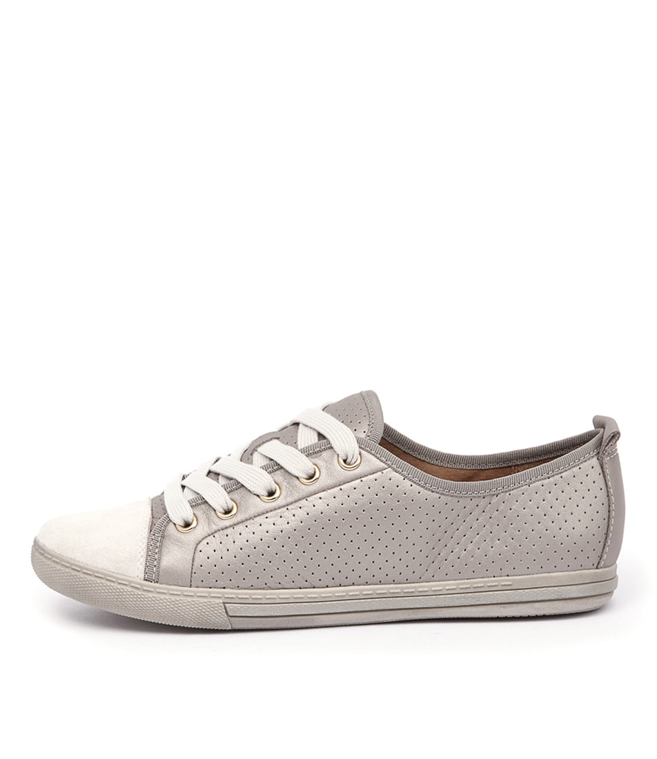 Supersoft Andi Platinum Bone Sneakers
