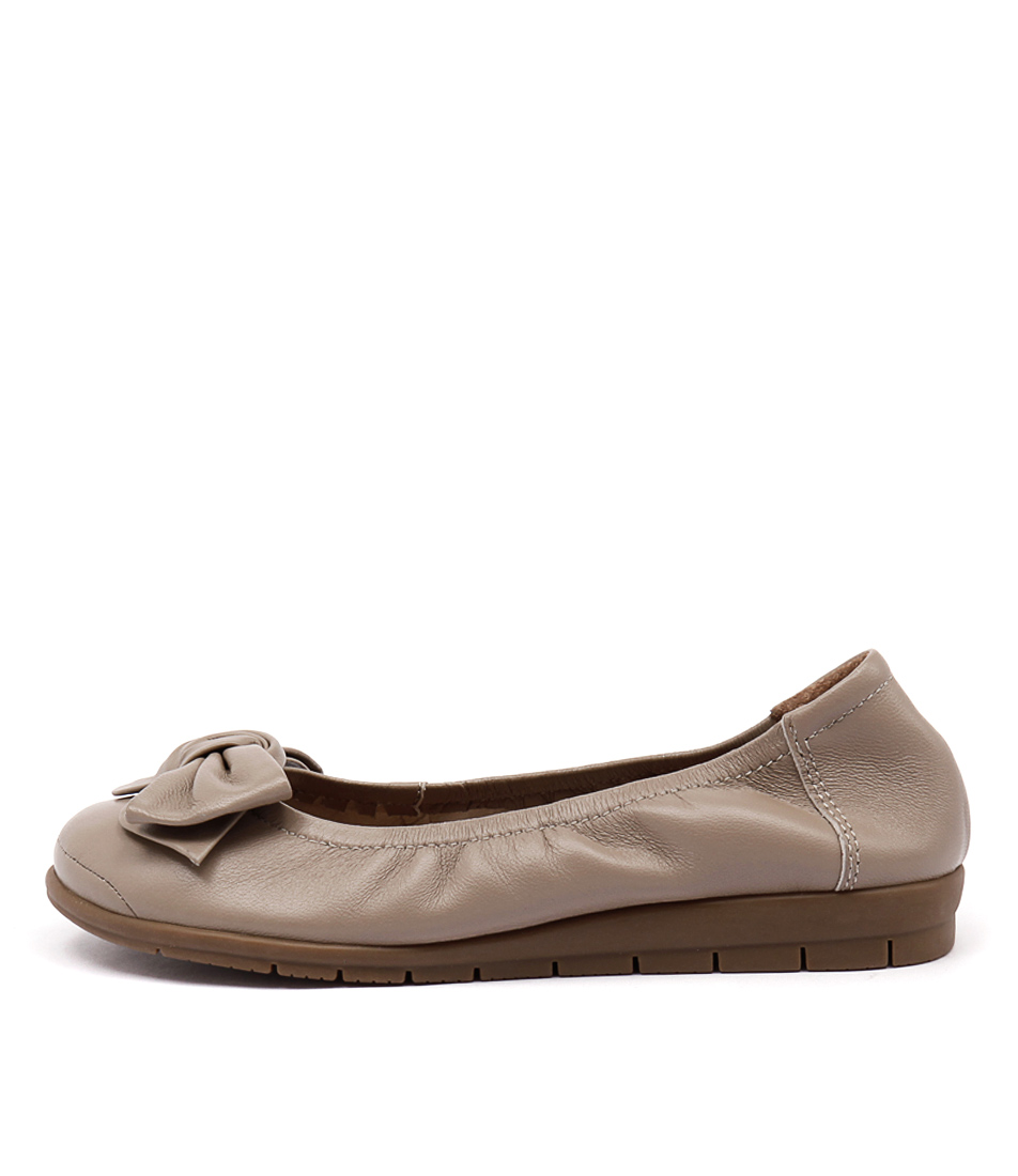Supersoft Fransisco Fawn Comfort Flat Shoes
