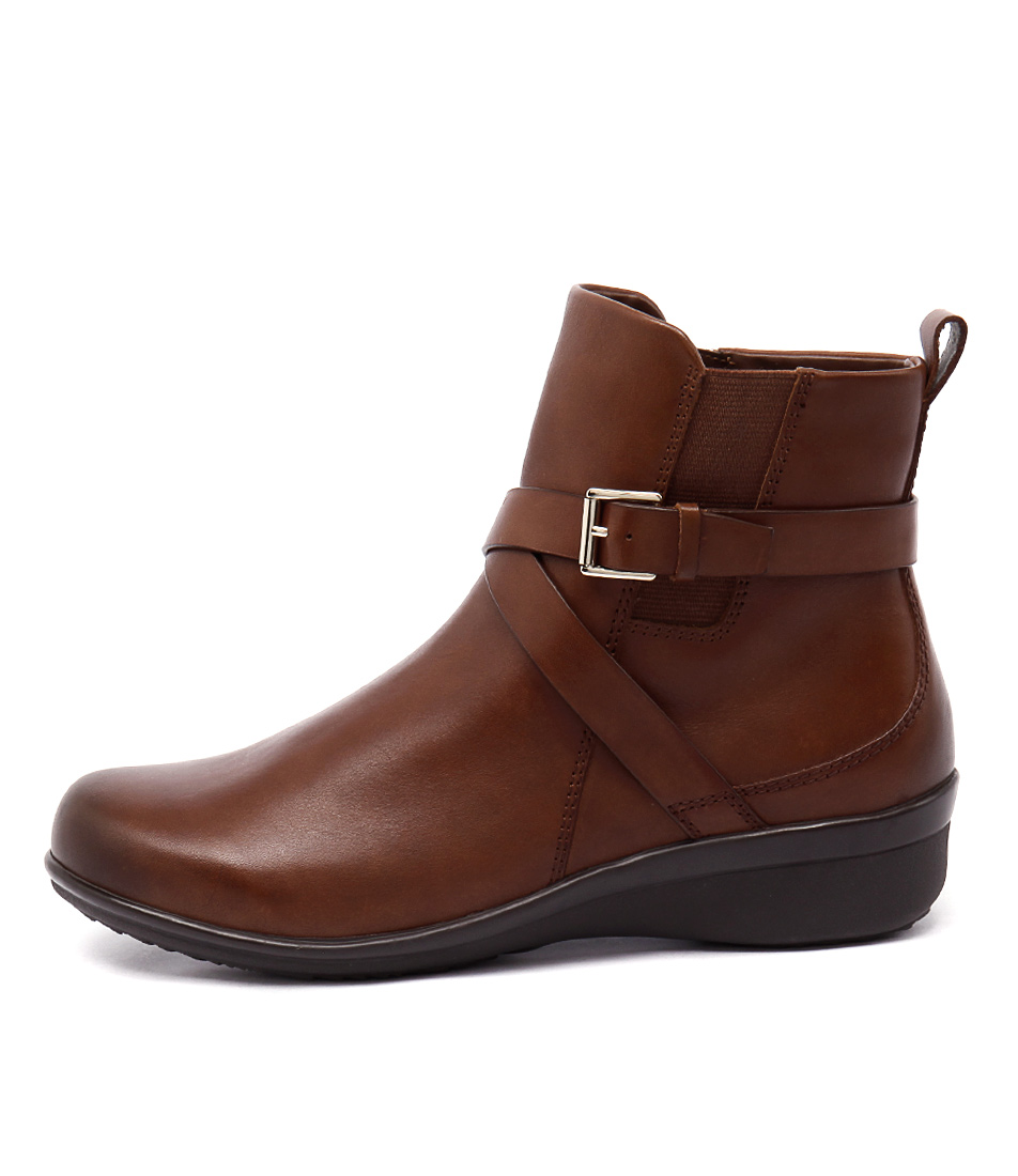 Supersoft Lynbrook Dark Tan Ankle Boots