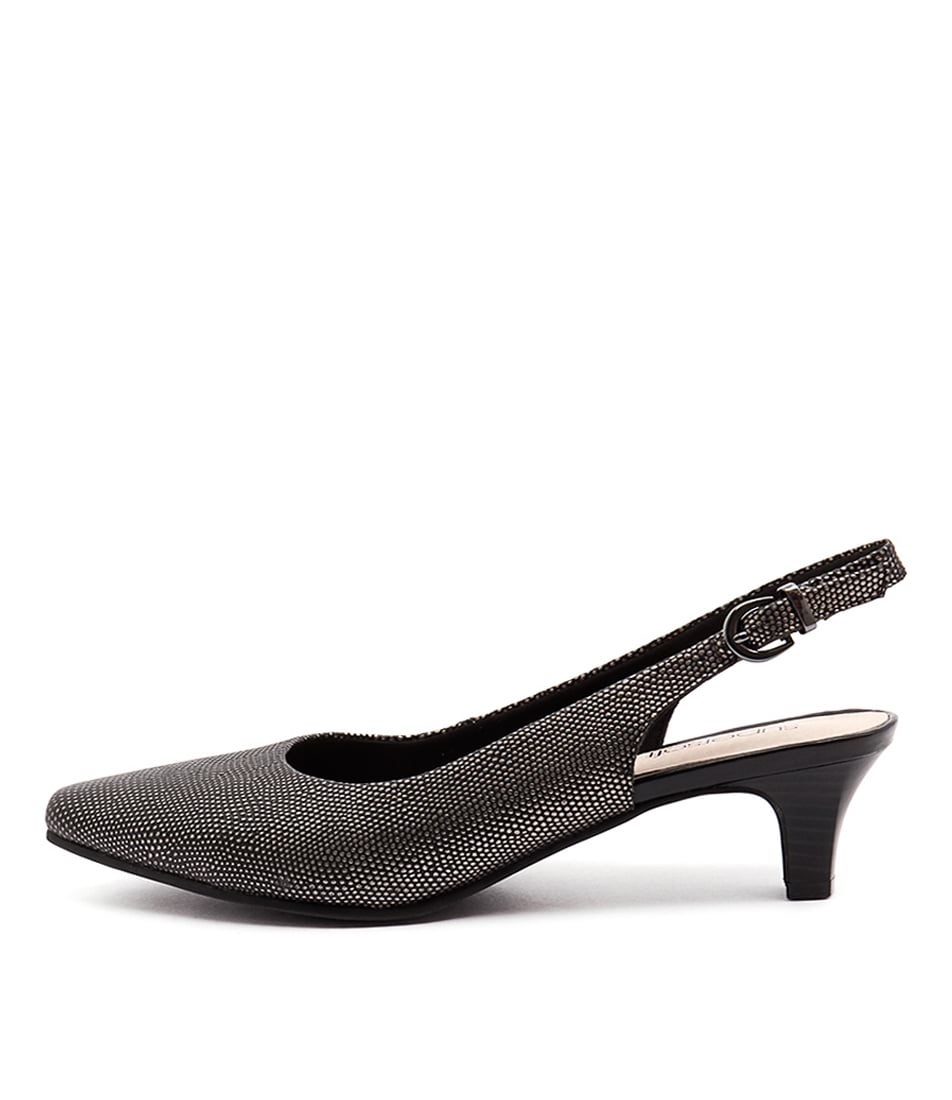 Supersoft Linden Su Gunmetal Heeled Shoes