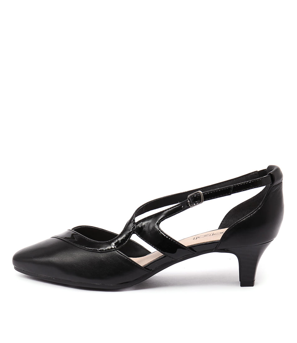 Supersoft Lennorre Black Shoes