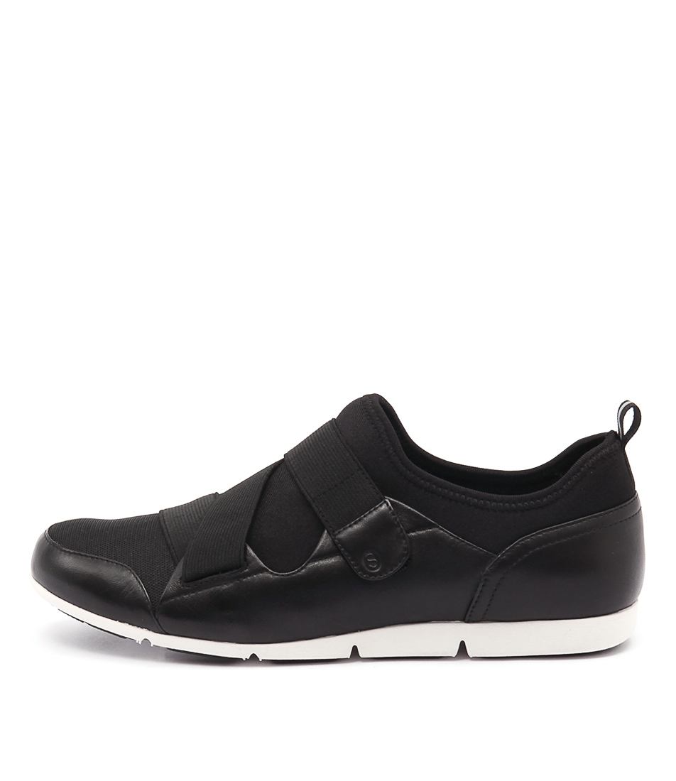 Supersoft Gravity Black Sneakers