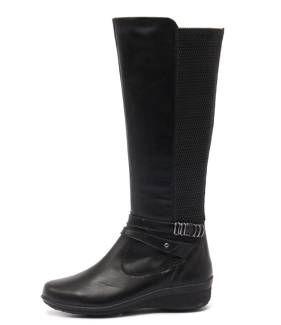 Supersoft Lewisia Black Boots