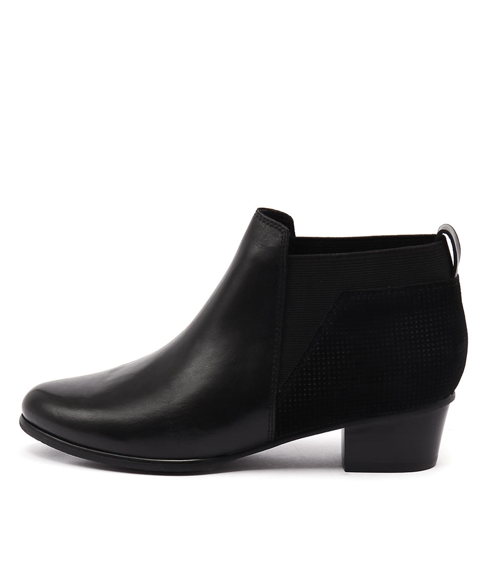buy Supersoft Kruze Su Black Ankle Boots shop Supersoft Boots, Ankle Boots online
