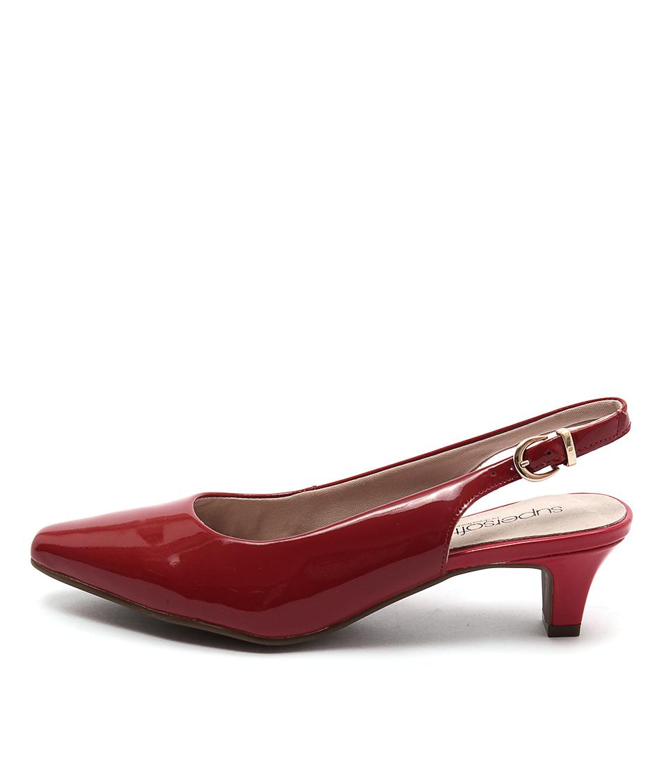 Supersoft Linden2 Red  Heels