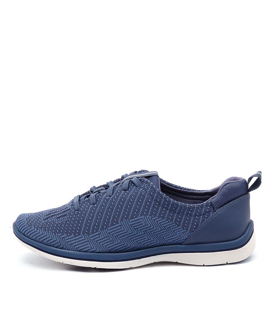 Supersoft Jedda Blue Multi Sneakers