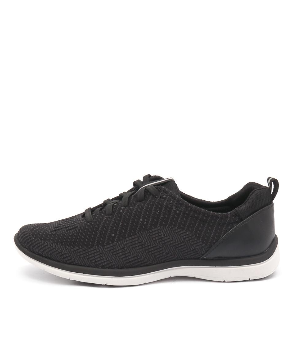 Supersoft Jedda Black Multi Sneakers