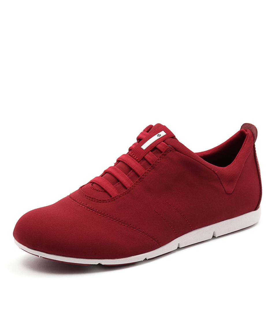 new supersoft galaxy su dark red womens shoes casual