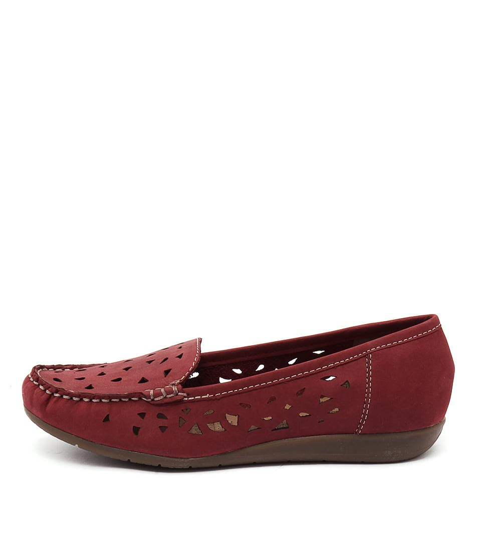 Supersoft Foxton Su Rich Red Shoes