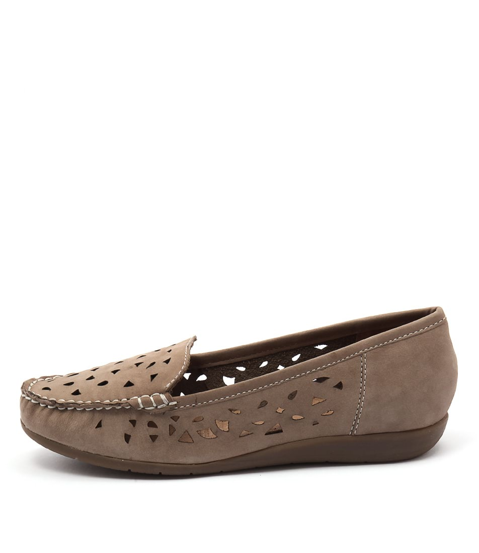 Supersoft Foxton Su Oatmeal Flat Shoes