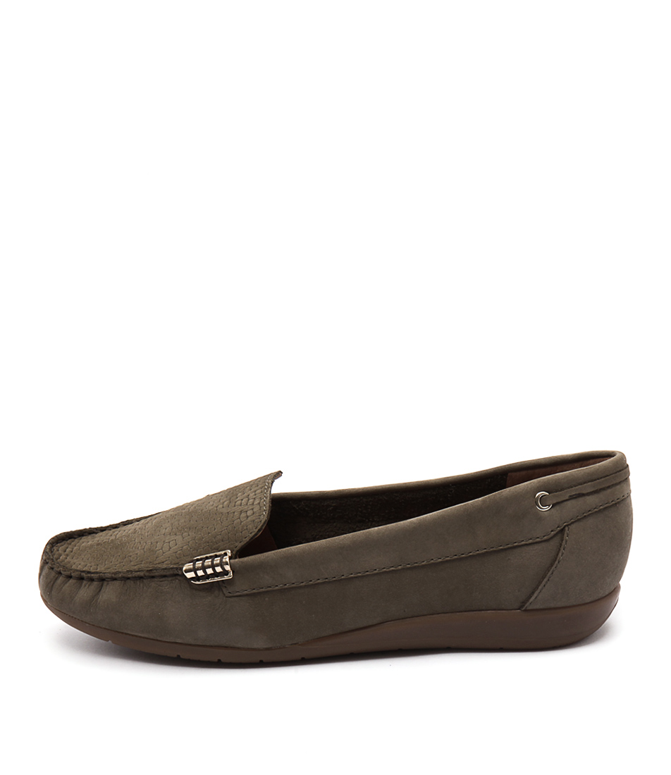 Supersoft France Olive Casual Flat Shoes