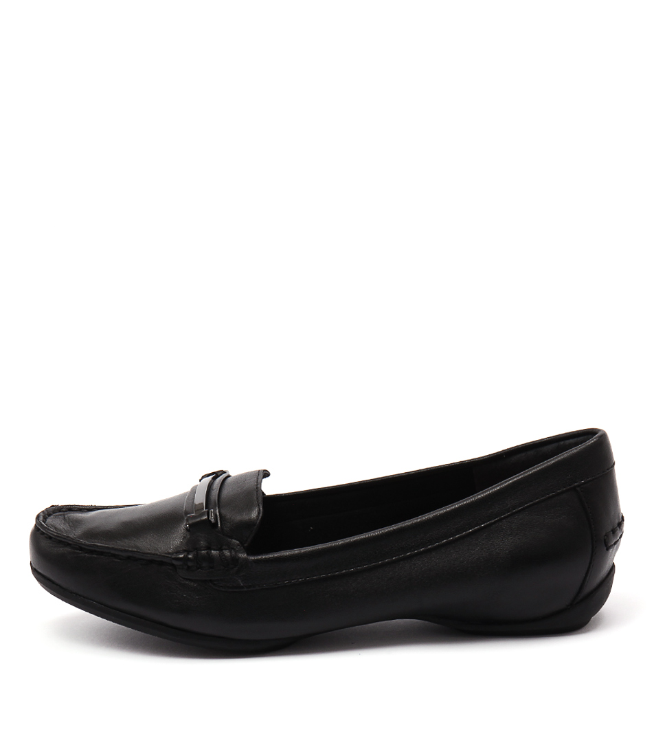 Supersoft Peppe Black Shoes