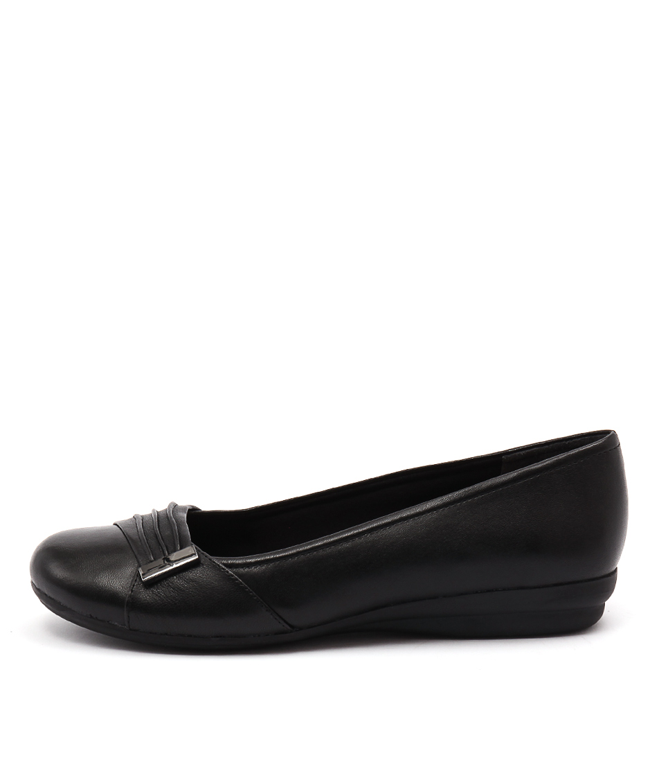 Supersoft Jewell Black Shoes