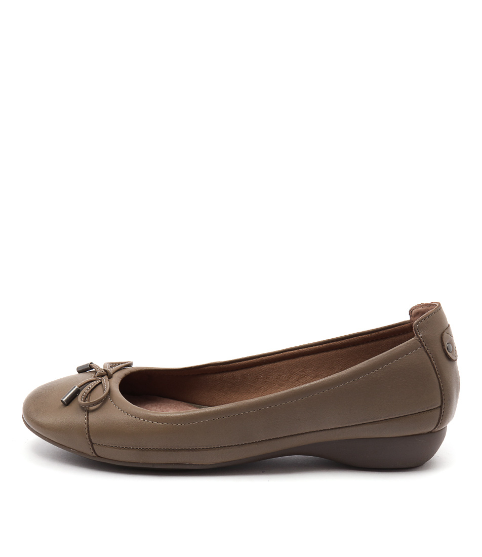Supersoft Embark Taupe Casual Flat Shoes