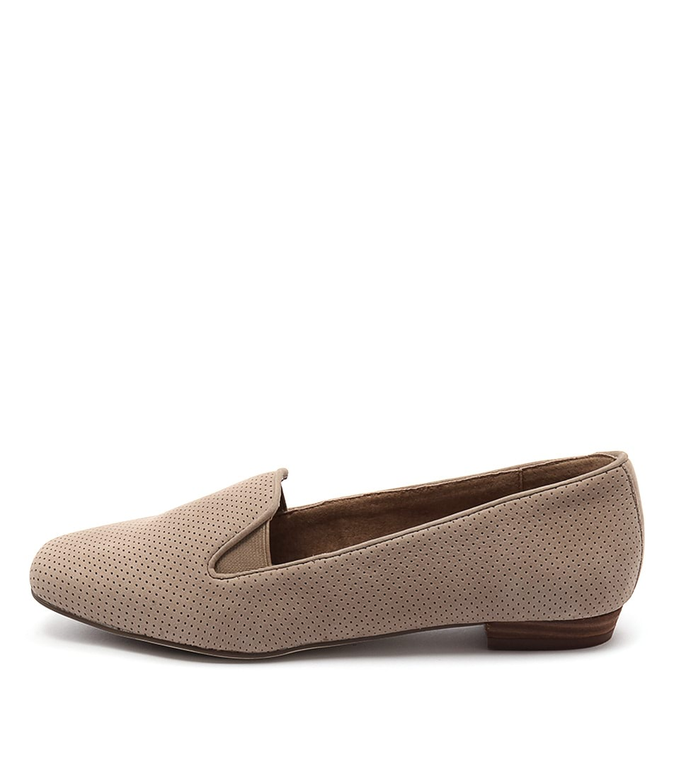 Supersoft Muriel Taupe Casual Flat Shoes