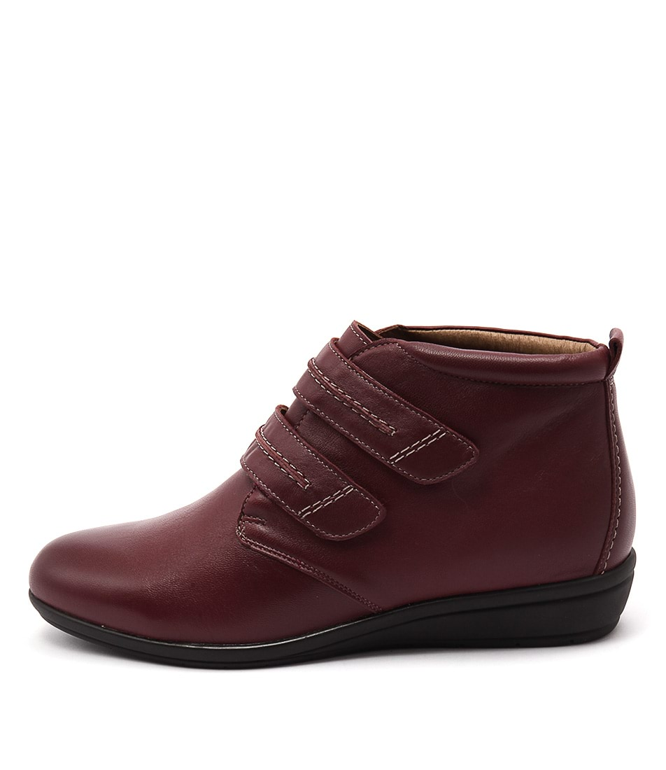 Supersoft Fairfield Su Rich Red Boots
