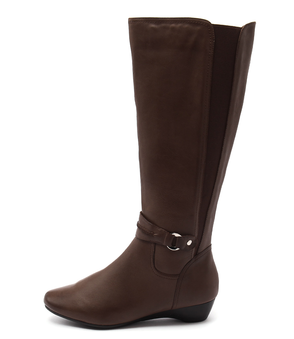 Supersoft Delphene Dark Tan Long Boots