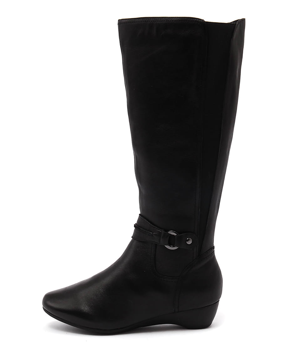Supersoft Delphene Black Boots  Long Boots