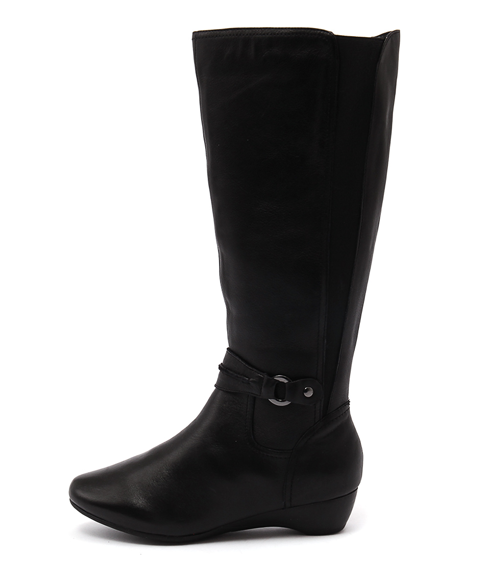 Supersoft Delphene Black Long Boots