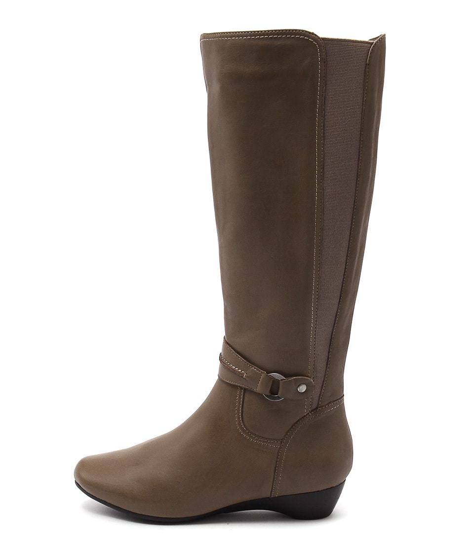 Supersoft Delphene Taupe Long Boots