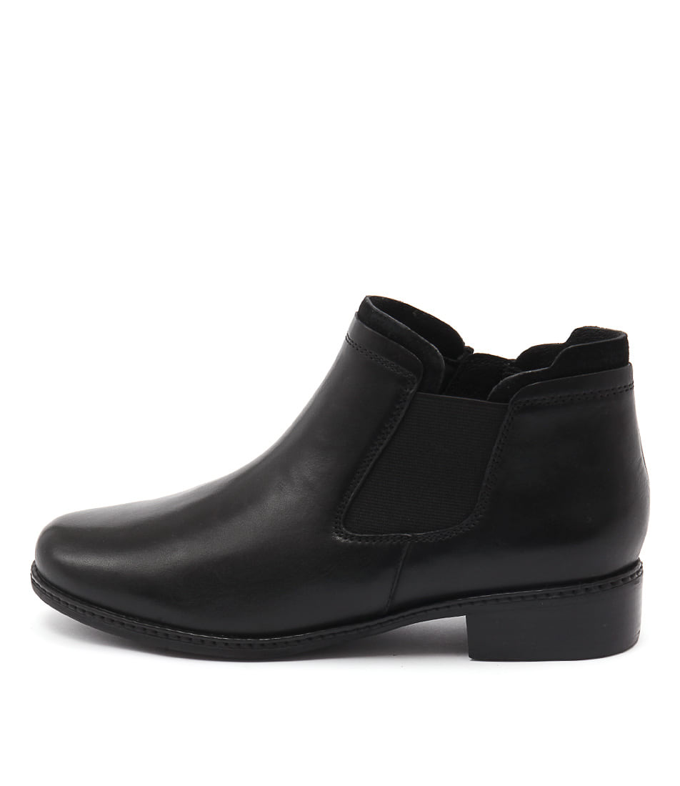 Supersoft Parris Black Casual Ankle Boots