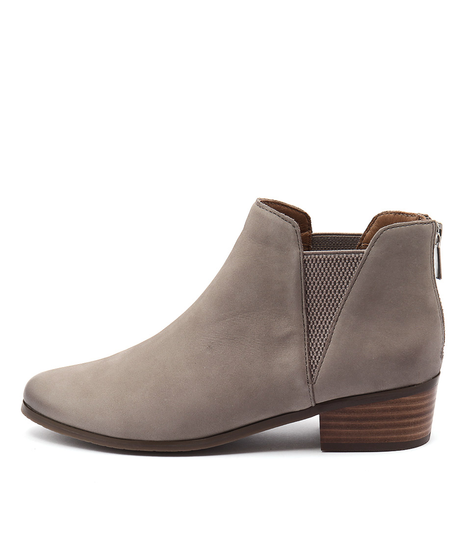 Supersoft Everly Light Grey Ankle Boots