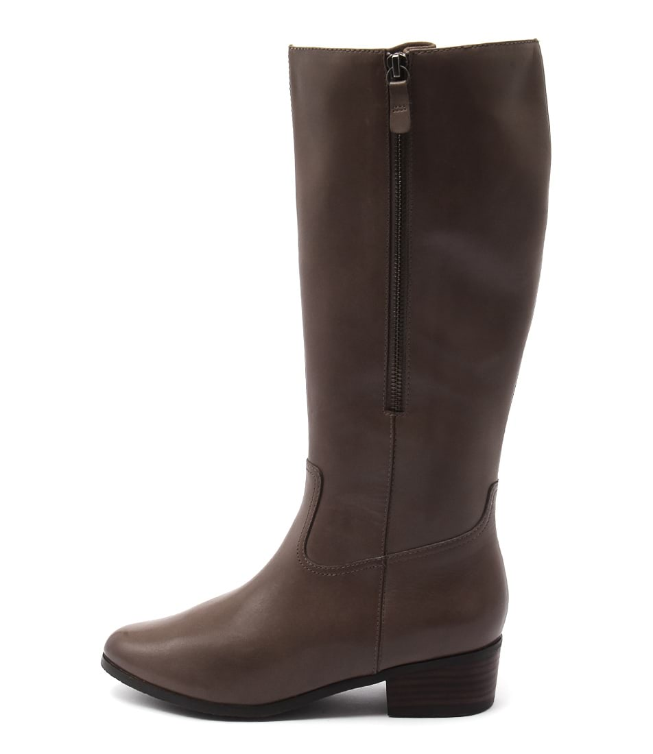 Supersoft Erskine Taupe Casual Long Boots