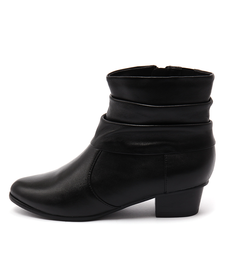 Supersoft Keeley Black Ankle Boots
