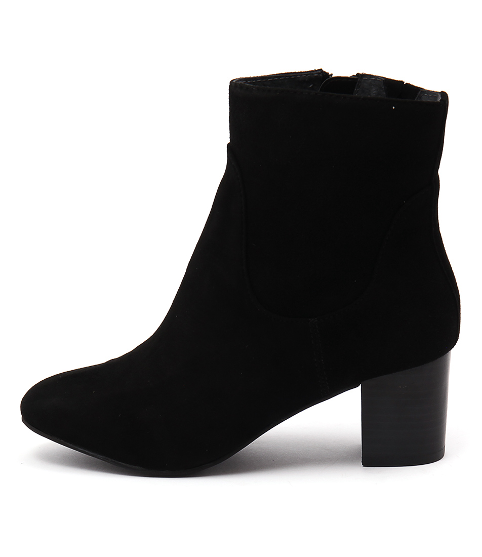 Supersoft Bazaar Black Ankle Boots
