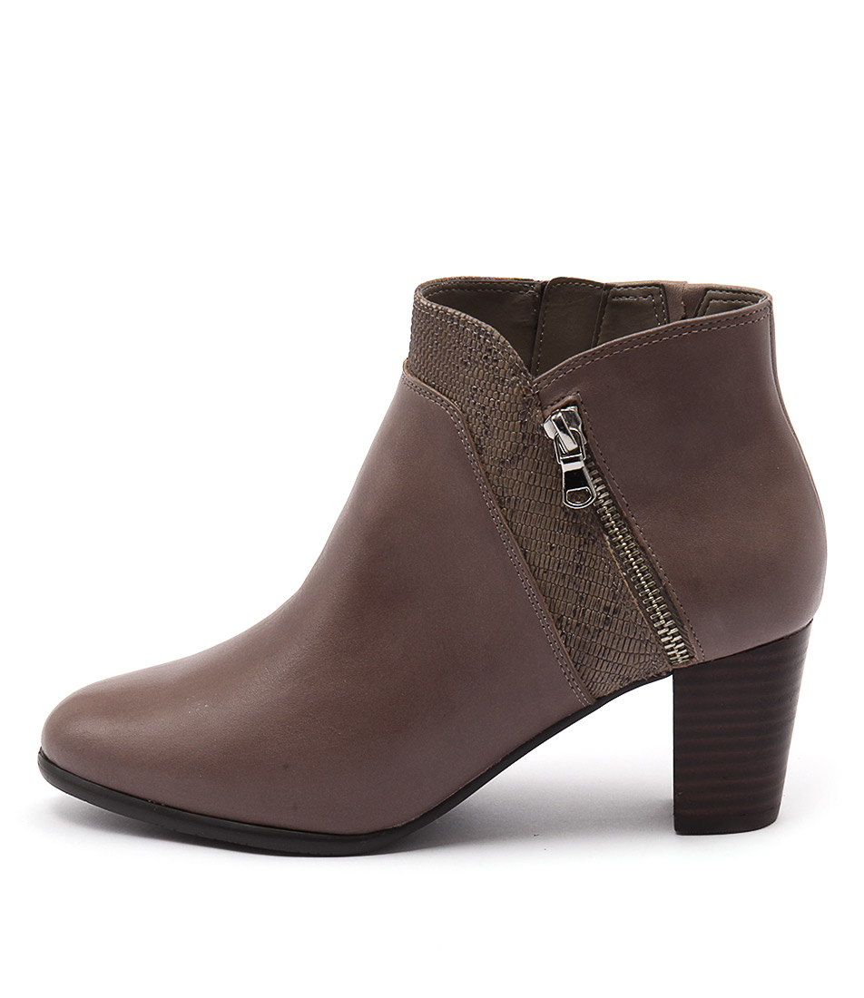 Supersoft Cookie Taupe Ankle Boots