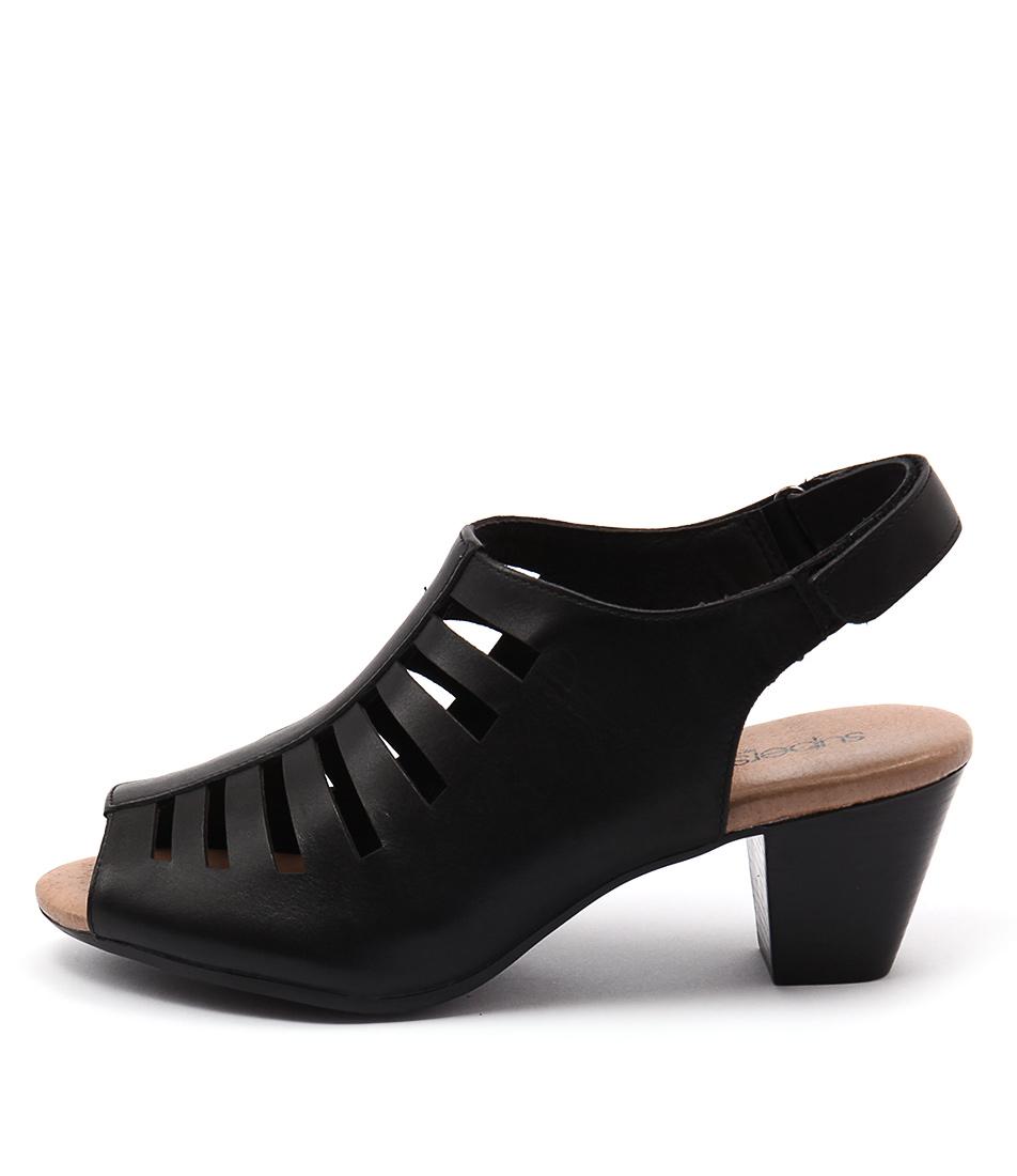 Supersoft Inessa Black Sandals