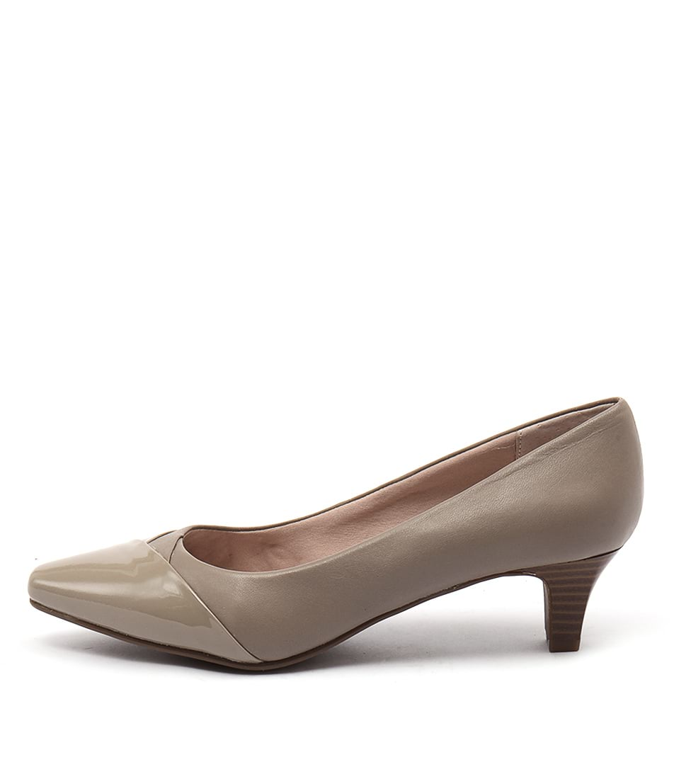 Supersoft Leia Mink Heeled Shoes