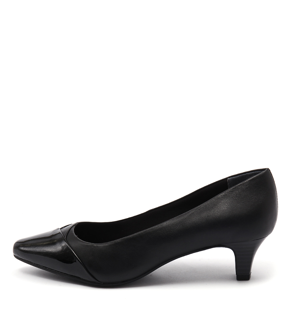 Supersoft Leia Black Heeled Shoes