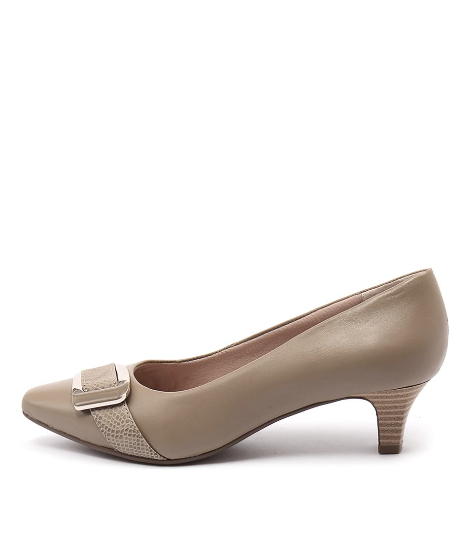 Supersoft Lyberty Fawn Heeled Shoes