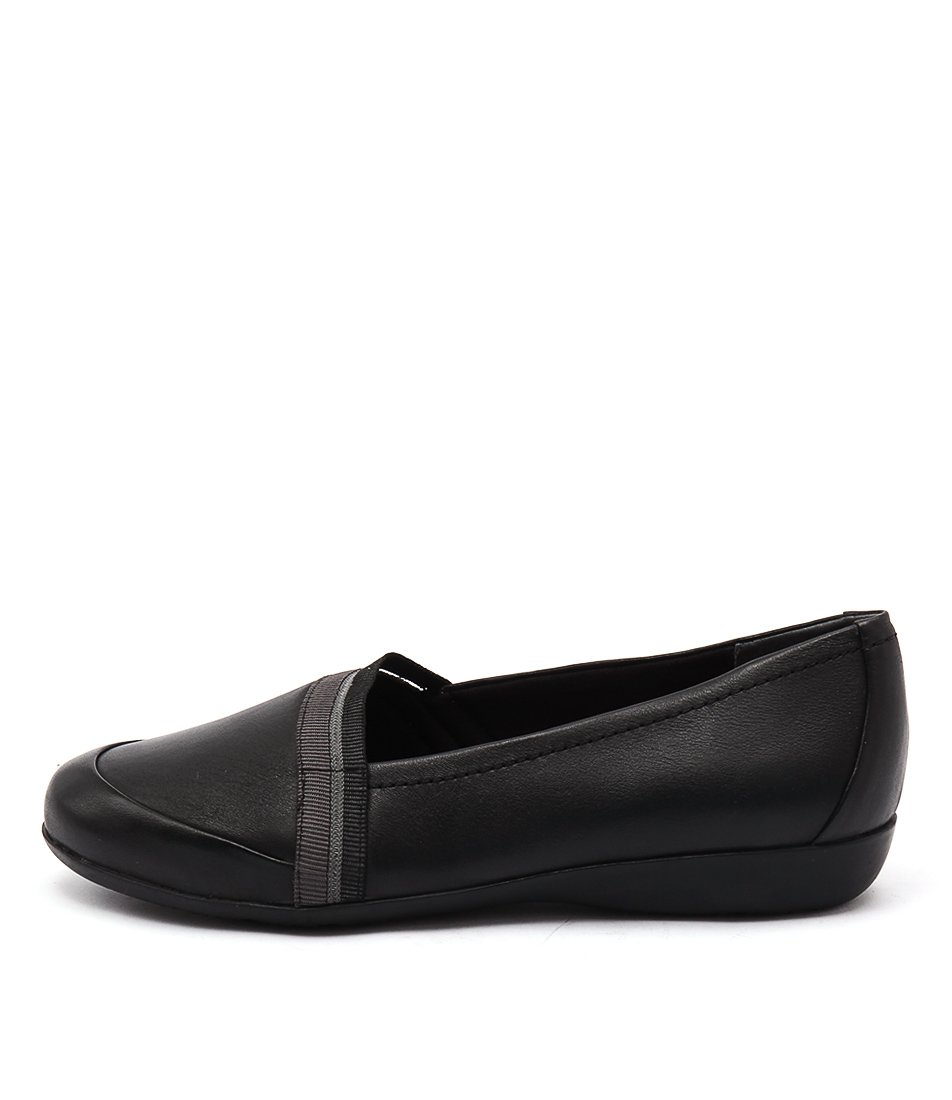 Supersoft Cosmic Su Black Casual Flat Shoes