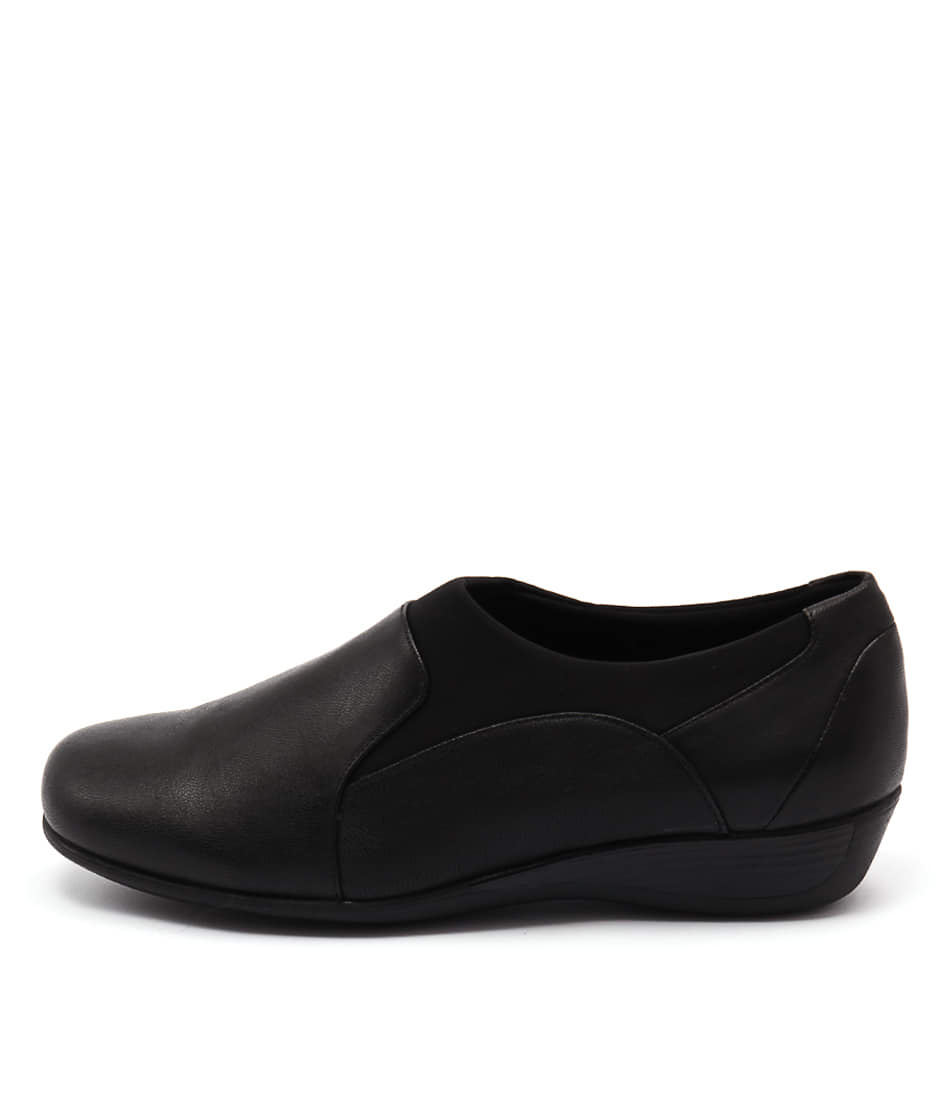 Supersoft Parla Black Shoes