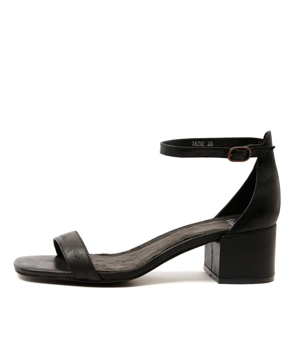 Mollini Taine Black Heeled Sandals