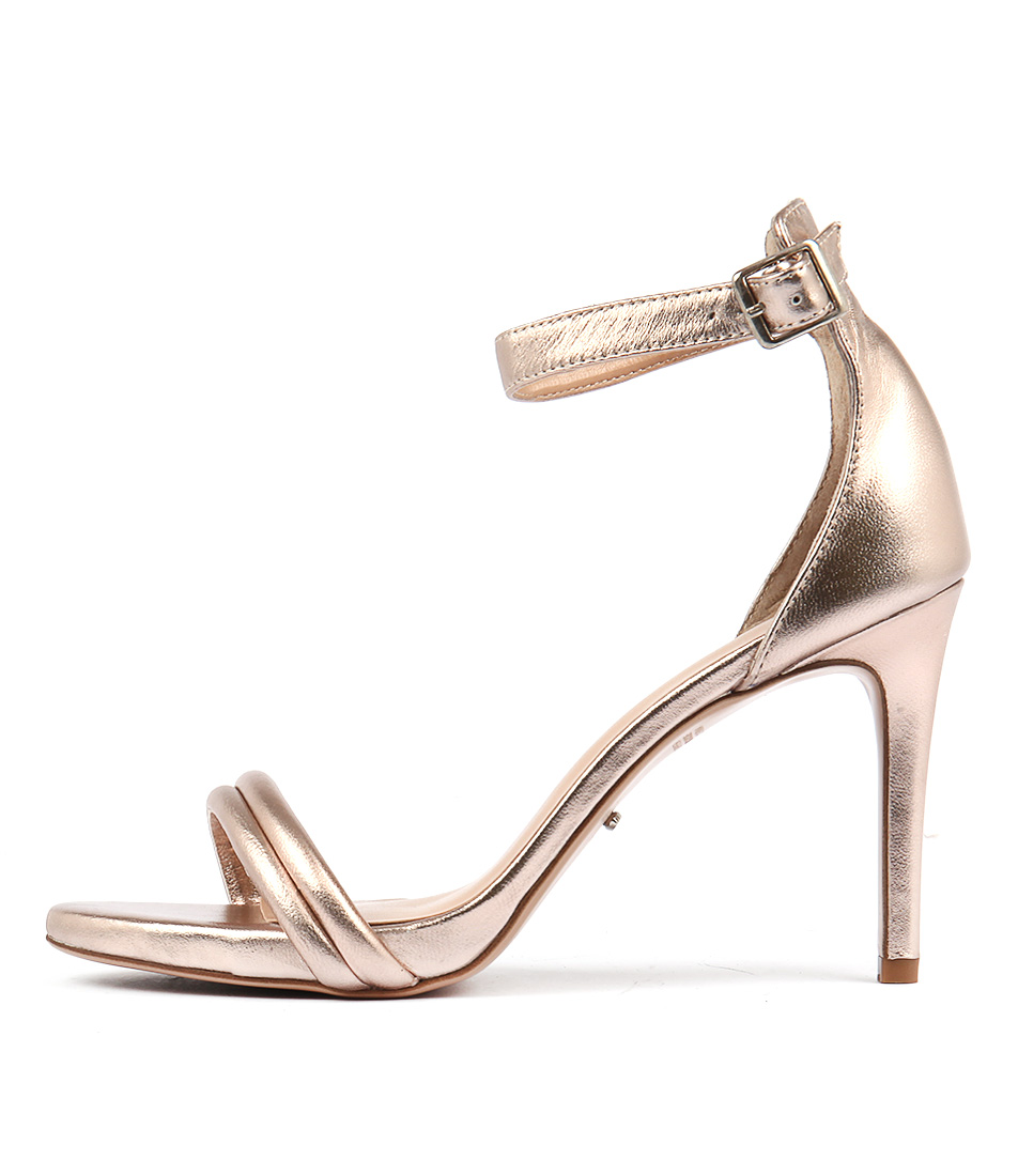 Tony Bianco Camila Tb Rose Gold Heeled Sandals