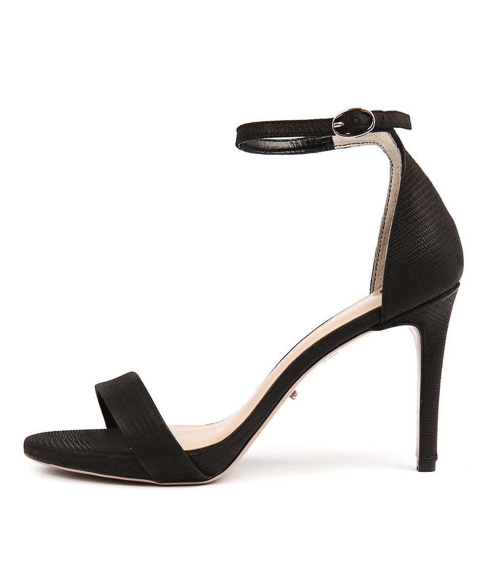 Tony Bianco Cooper Tb Black Heeled Sandals