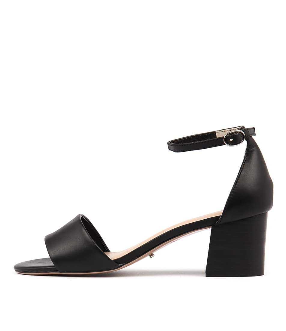 Tony Bianco Next Tb Black Heeled Sandals