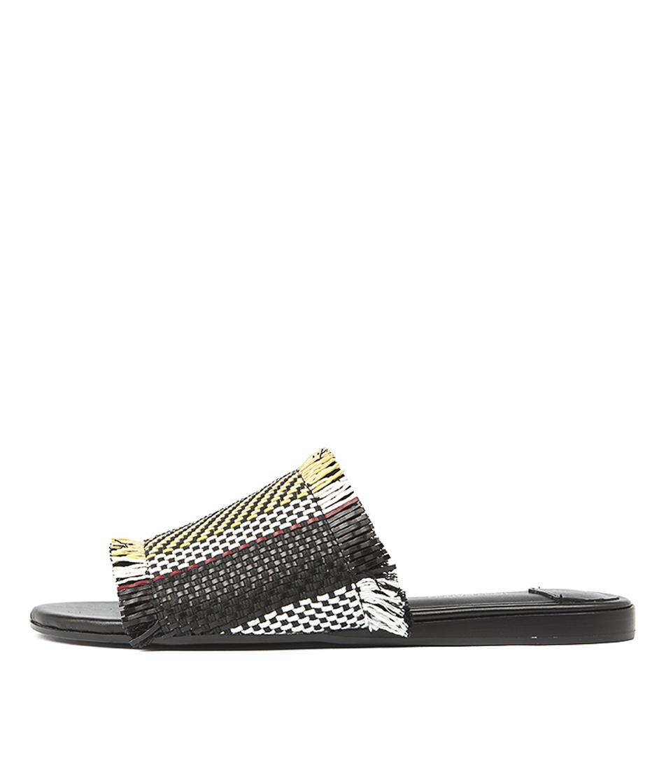 Tony Bianco Jayd Tokyo Multi Flat Sandals