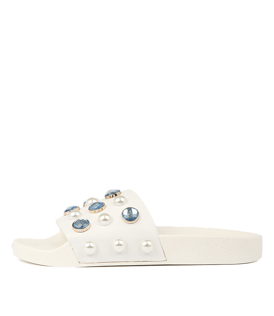 Photo of Tony Bianco Venice Tb White Sandals womens shoes