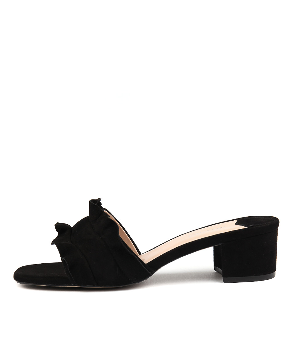 Tony Bianco Milly Tb Black Heeled Sandals