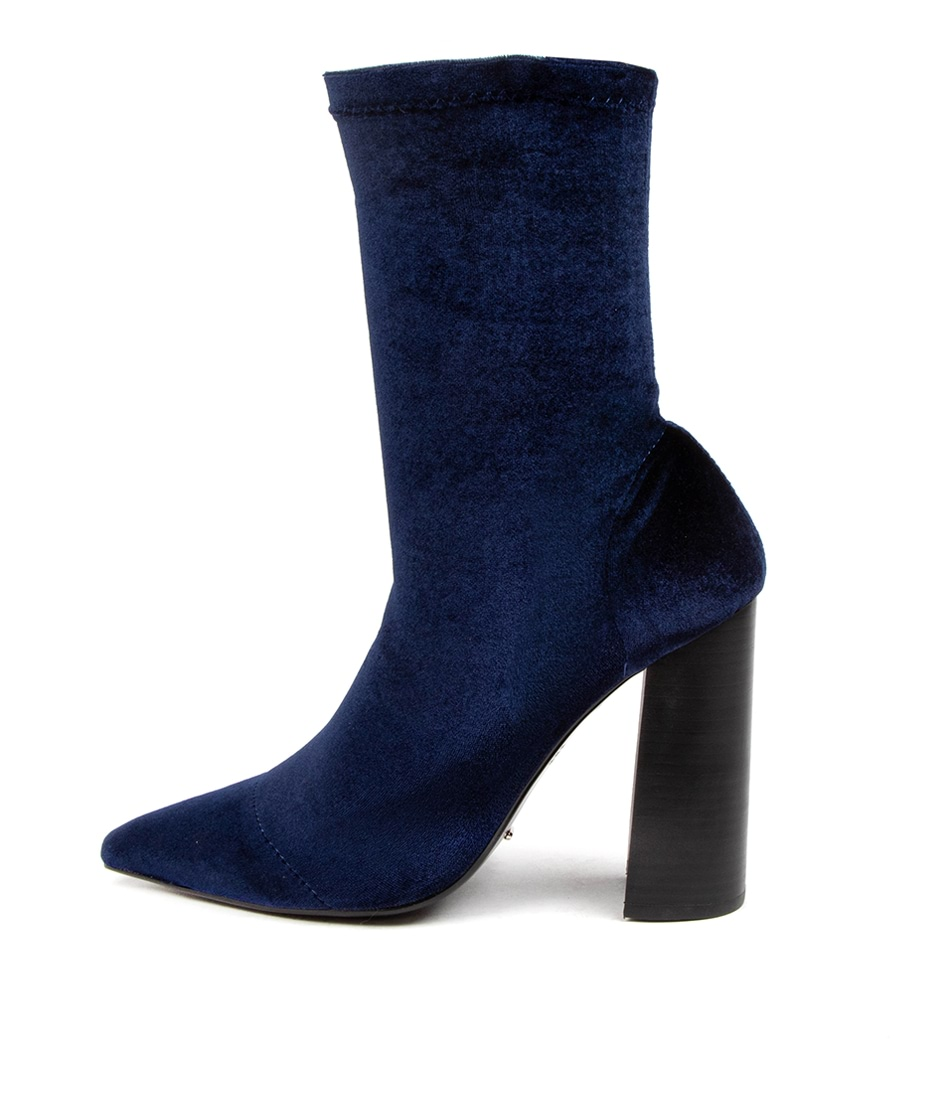 Buy Tony Bianco Diddy Tb Navy Ankle Boots online with free shipping